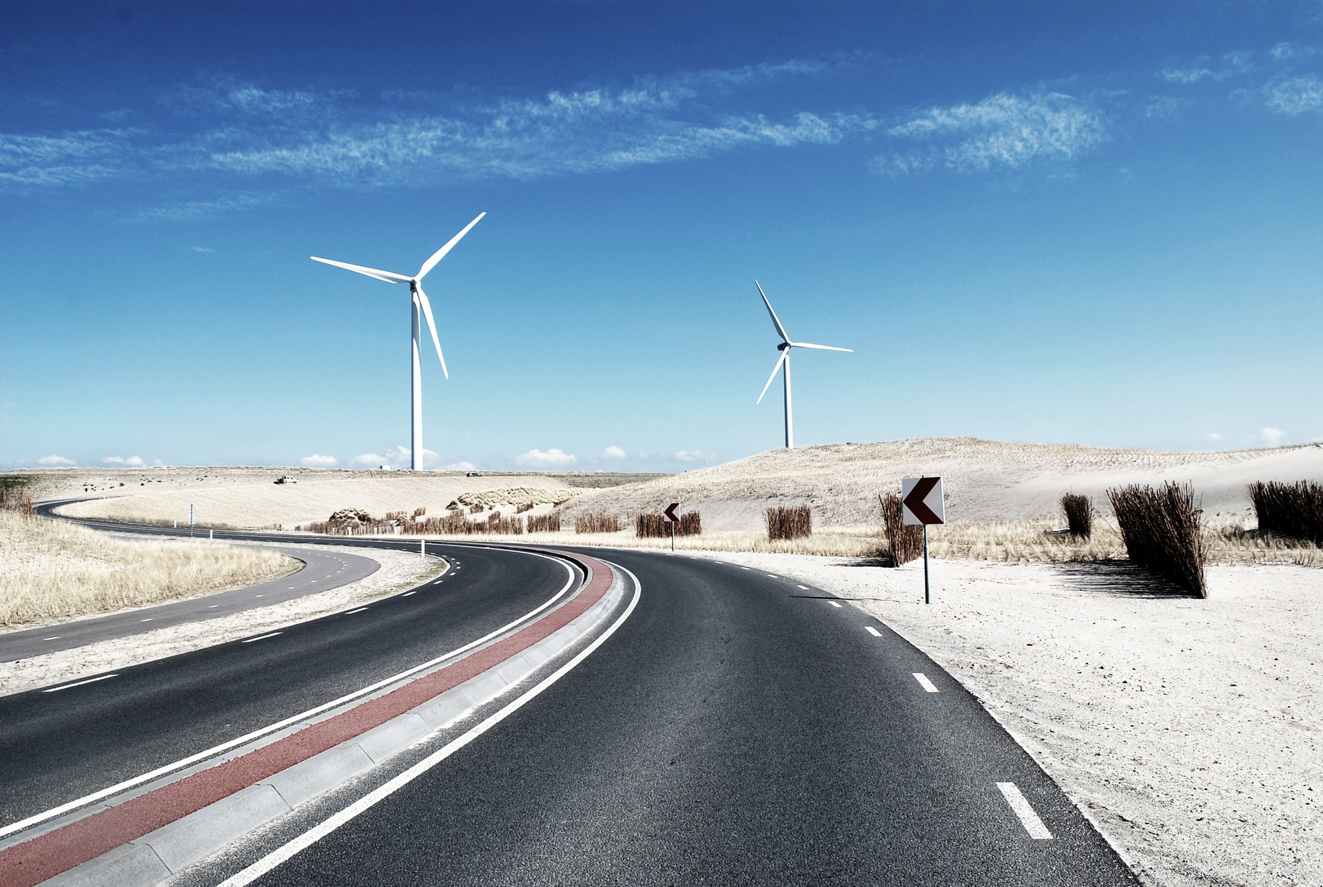 road-street-desert-industry